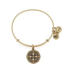 Alex and Ani ALEX AND ANI Compass Charm Bangle - A16EBCORG