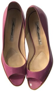 Brian Atwood Pink/Purple Wedges