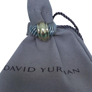 David Yurman Authentic David Yurman dome ring with Sterling silver and gold