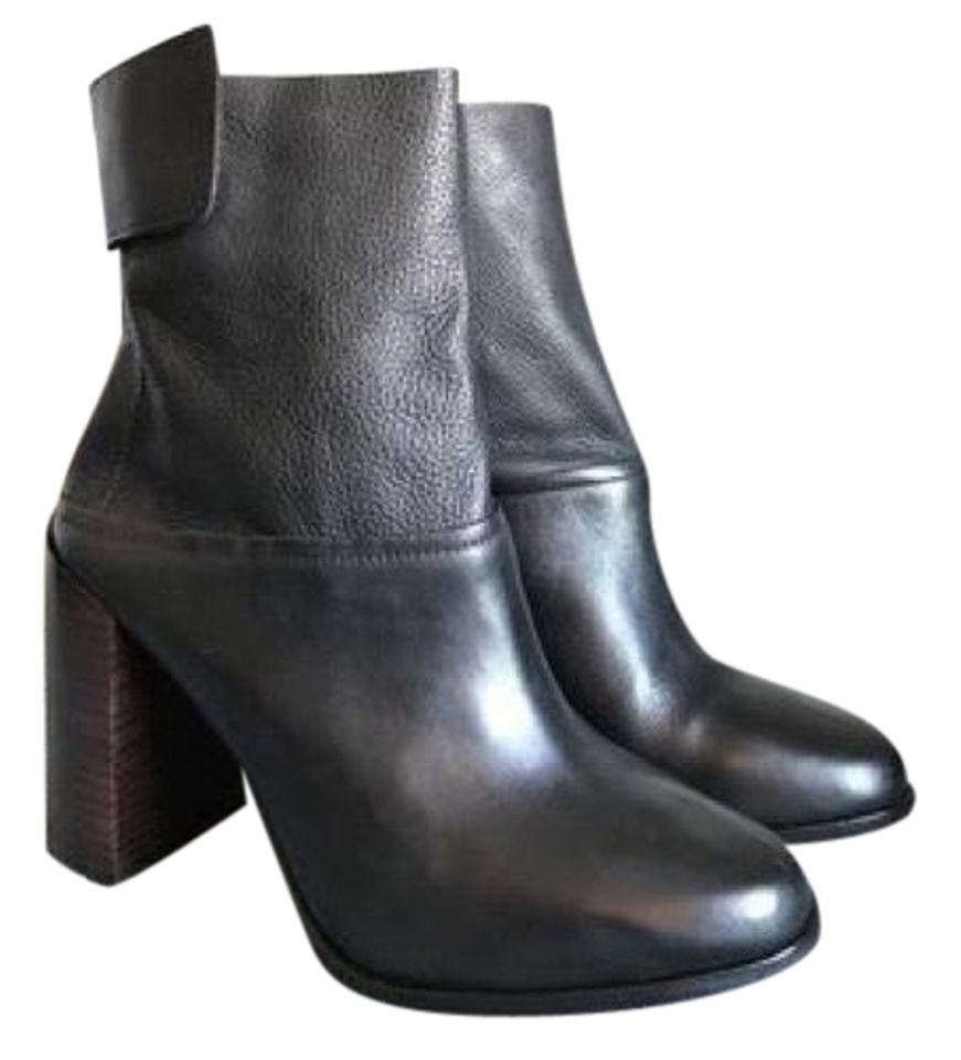 Black Boots/Booties Madson Vachetta Pebbled Ankle Boots/Booties Black cad867
