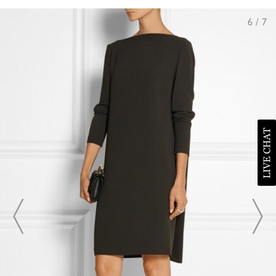 d3cff9f9d871 Calvin Klein Collection Brown Espresso Open Back Low Back Shift Cocktail  Dress. Size  2 (XS) Length  Mid-Length ...