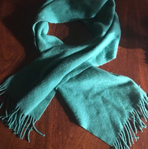 Marc Jacobs Marc Jacobs Green Cashmere Scarf