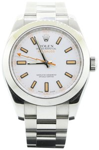Rolex Rolex Oyster Perpetual W5006 Milgauss Stainless Steel White dial 40mm