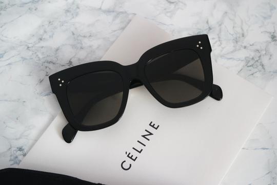 7b39079f77bfe Celine Black Square Sunglasses