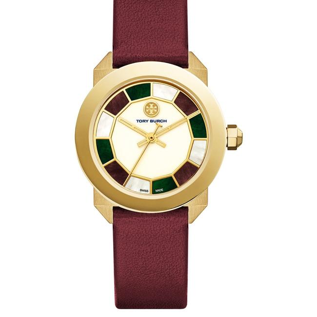Item - Burgundy and Gold Whitney Watch