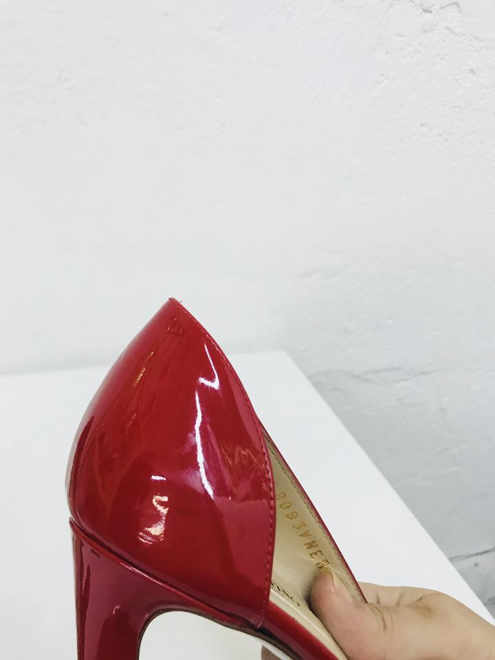 Valentino Couture D'orsay Bow Pumps Red 66npzWx