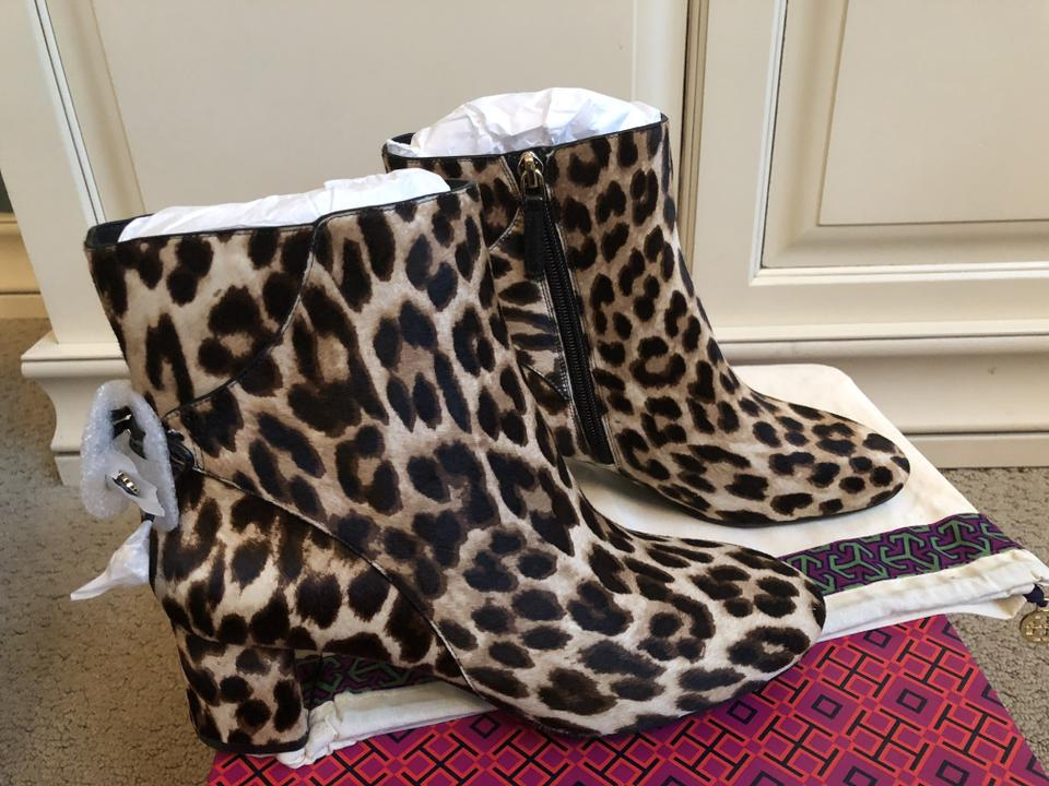 Booties Leopard Tory Hair Burch Laila Calf Boots zPwgPY