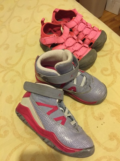 Other Grey And Hot Pink Athletic