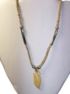 Other Hawaiian Fish Hook Pendant Necklace