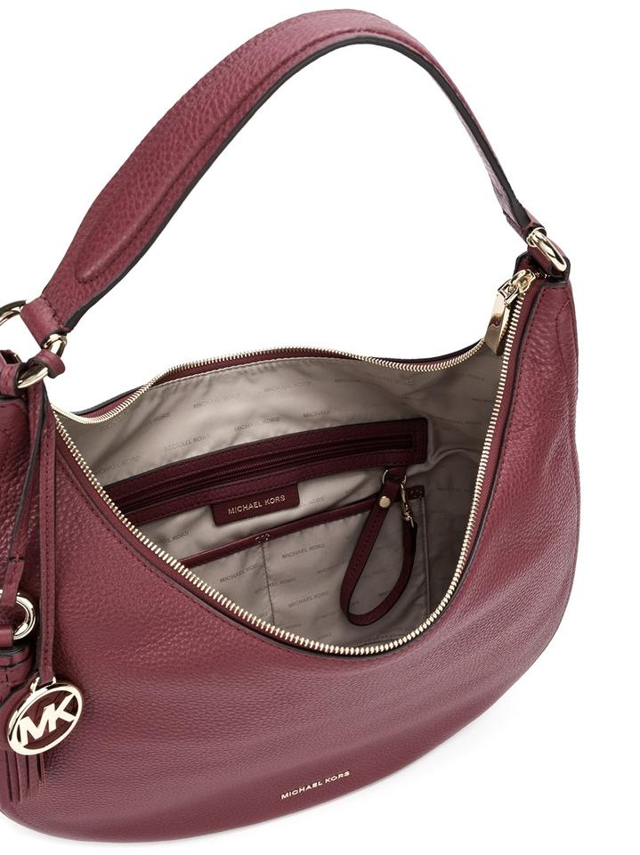 12874d921484 Michael Kors New Lydia Large Mulberry Soft Leather Hobo Bag - Tradesy