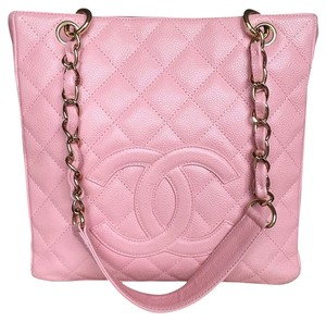 Chanel Pst Petite Shopping Tote in Pink