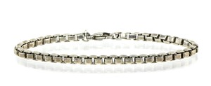 Tiffany & Co. Tiffany & Co Box Chain Silver Bracelet