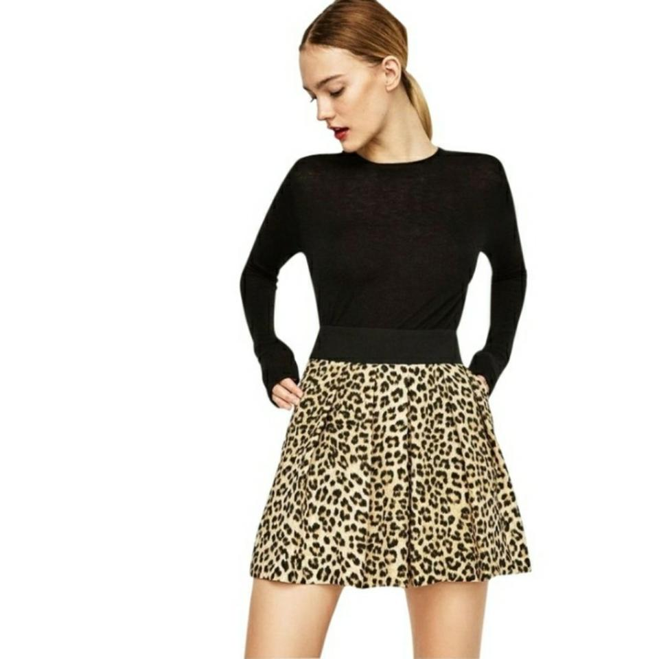 8553a403 Zara Multicolor New with Tags Animal Print Xs Shorts Size 2 (XS, 26 ...