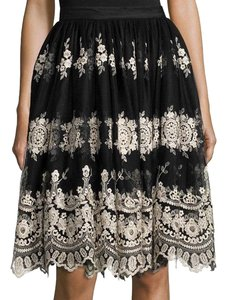 Alice + Olivia Justina Tulle Tulle And Skirt Black