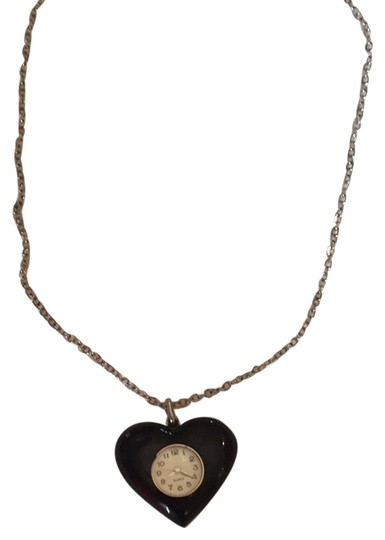 Urban Outfitters Urban Outfitters Heart Watch Necklace
