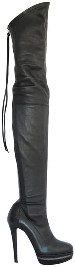 Preload https://img-static.tradesy.com/item/22728645/christian-louboutin-black-unique-365-it-platform-thigh-high-over-knee-heel-lady-toe-red-leather-boot-0-2-540-540.jpg