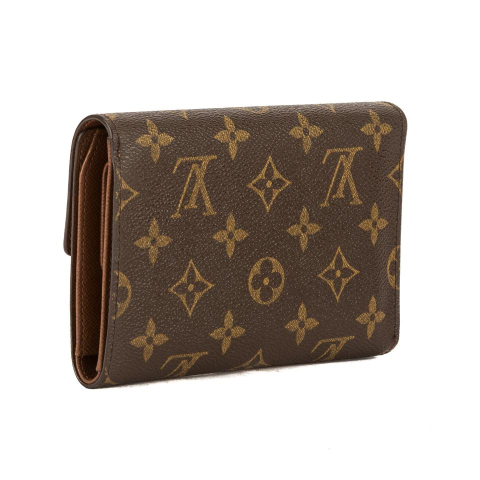d04c0d271a78 Louis Vuitton Brown Monogram Canvas Porte-papier Zip Pre .