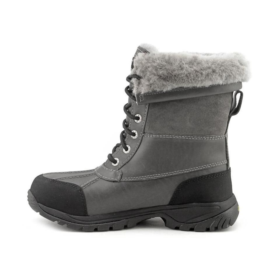 32186db2d09 UGG Australia Gray Men's Butte Waterproof Leather 5521 Boots/Booties Size  US 9 Regular (M, B)