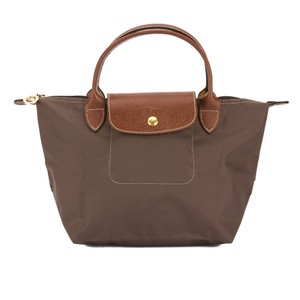 Longchamp Tote in Taupe