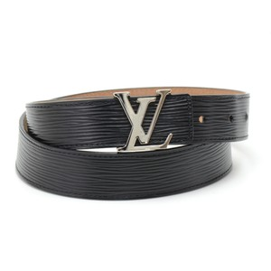 Louis Vuitton Louis Vuitton Ceinture LV Initiales 30mm Black Epi Leather Belt 80/32