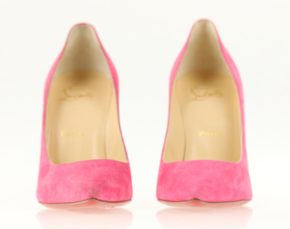 d43b0beac52 Decoltish 100 Suede Darling Pink Pumps 22% off retail