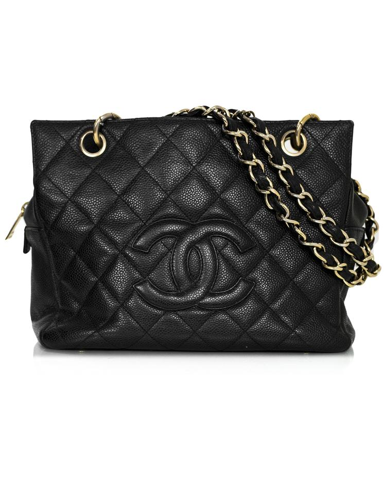 Chanel Timeless Tote Petite With Db Black Caviar Tote