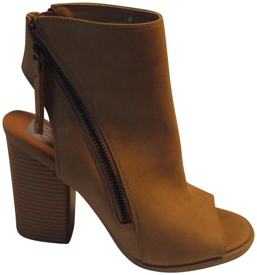 Dolce Toed Vita Tan New Open Toed Dolce Boots/Booties e1fd13