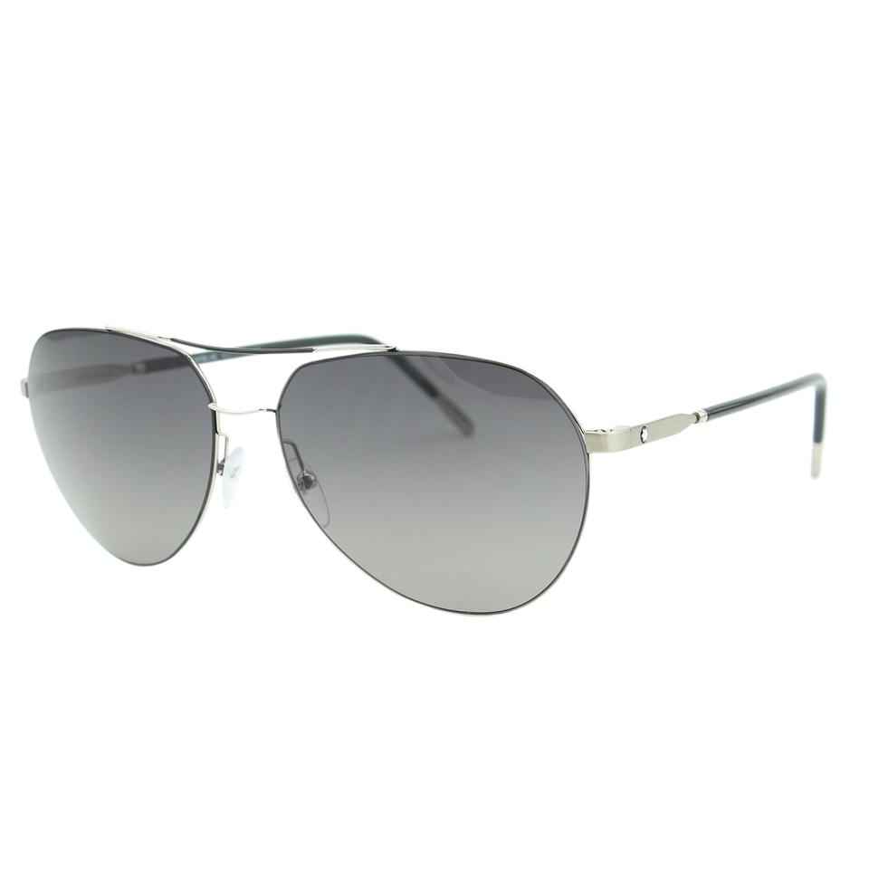 913f6e3a13 Montblanc Silver New 2018 Men Mb595 Metal Lightweight Aviator Zeiss Lenses  Sunglasses - Tradesy