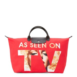 Jeremy Scott Red Travel Bag
