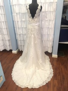 Christina Wu Ivory 15566 Formal Wedding Dress Size 20 (Plus 1x)