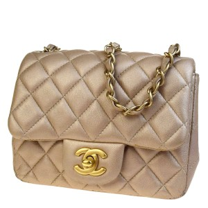 Chanel Made In Italy Satchel in Gold