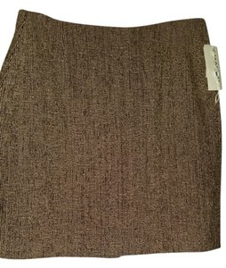 Emanuel Ungaro Mini Skirt Brown Multi