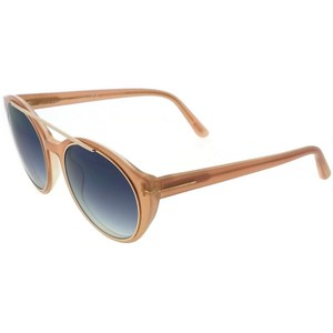 05751a766d Tom Ford FT0383-74B Joan Women s Rose Frame Blue Lens Genuine Sunglasses