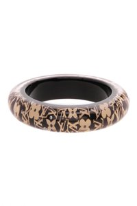 Louis Vuitton Louis Vuitton Inclusion GM Bangle Bracelet - Black/Gold