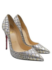 Christian Louboutin Metallic Croc Lurex multicolor Pumps