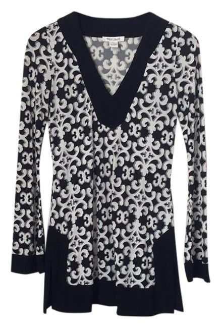 Preload https://item4.tradesy.com/images/white-house-black-market-and-elegant-jersey-knit-moroccan-bell-sleeve-tunic-size-0-xs-2273238-0-2.jpg?width=400&height=650