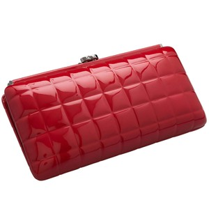 Chanel Timeless Classic Red Clutch