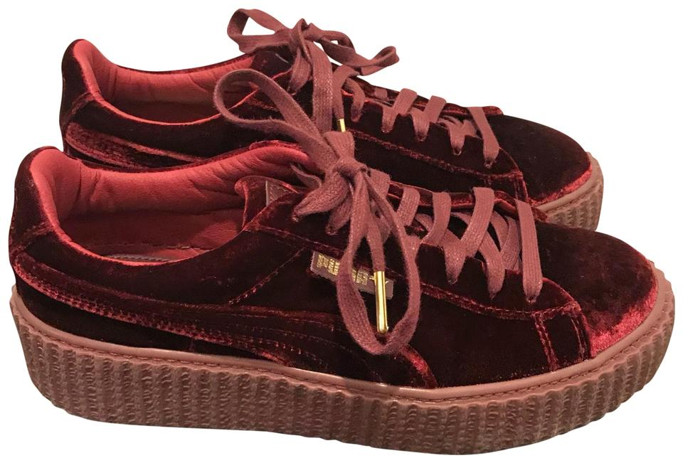 premium selection e70df da74b Red Velvet Creeper Sneakers
