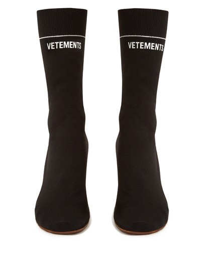vetements black Boots Image 1