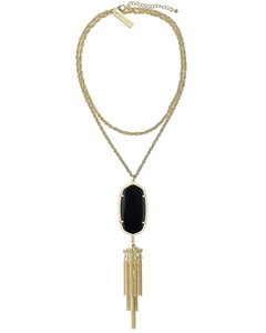 Kendra Scott Brand New Kendra Scott Rayne Necklace in Black Gold