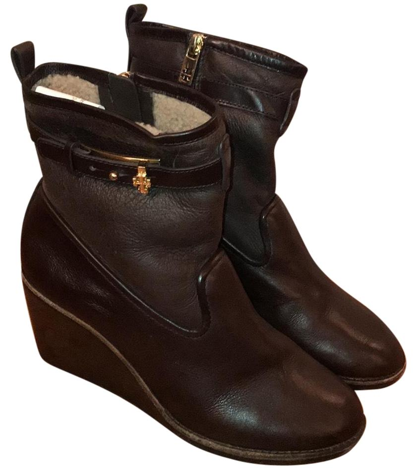 Tory Brown Burch Brown Tory With Wedge Boots/Booties 6275a7