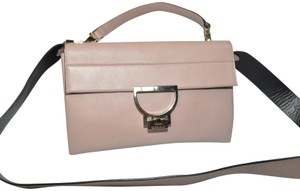 Coccinelle Black Leather Cross Body Bag