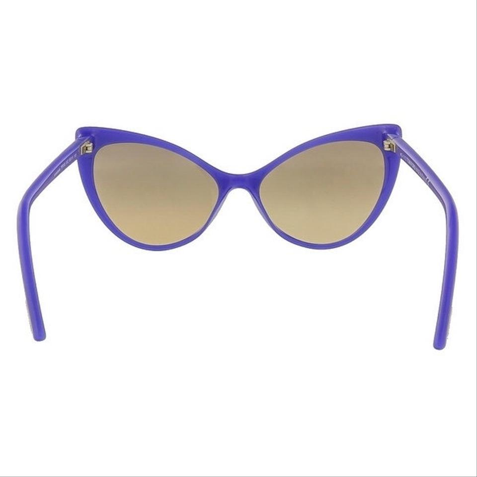 2dc2f98c05bce Tom Ford Purple (Electric Blue) Anastasia Cat Eye Glasses Sunglasses ...
