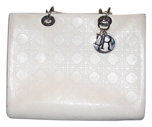 Christian Dior Satchel in White