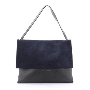 Cline Suede Tote in Blue