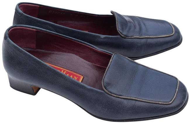 Item - Dark Blue Country Loafers Flats Size US 6 Regular (M, B)
