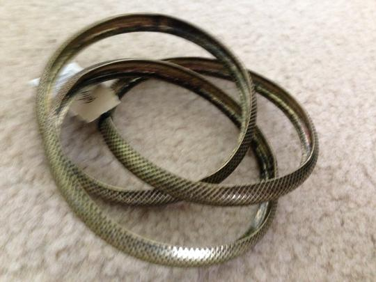 Stephan & Co NWT Shephan & Co. Bangle Bracelets in Antique Gold.