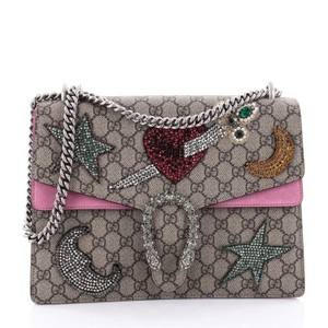 Gucci Dionysus Canvas Shoulder Bag