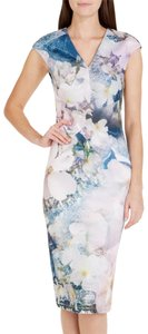 Ted Baker Amily Floral Geo Dress
