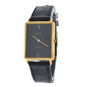 Tourneau Authentic Ladies Tourneau Vintage Steel Gold 24MM Quartz